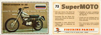 "RARE !! Sticker n°73 ""SUPER MOTO "" Panini 1975"
