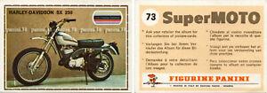 """RARE !! Sticker n°73 """"SUPER MOTO """" Panini 1975"""