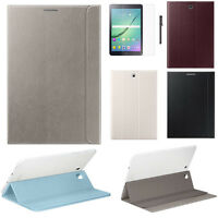"""Leather Case Stand Cover For Samsung Galaxy Tab S2 8"""" / 9.7"""" T710 T715 +Film+Pen"""