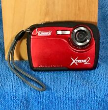 Coleman XTREME2 Digital Waterproof Camera High Definition w 16 MP Memory Card