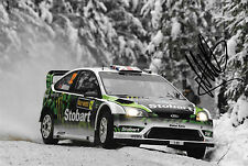Matthew Wilson SIGNED Ford Focus RS WRC  , WRC Rally Sweden 2010