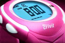 Crivit SPORTS Herzfrequenz-Messuhr/Heart Rate IN Pink/Digital Clock