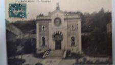 Saint-Mihiel Judaica Rare Old Postcard Jewish Synagogue 1900 France Rare Israel