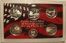 2005 SILVER STATE QUARTER PROOF SET  no box or COA