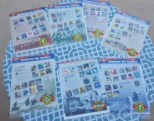"""Celebrate the Century"" USPS Set of 7 Decades 1900's-1960's Stamps Sheets"