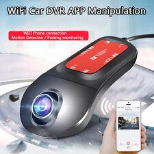 Wifi 1080P HD Car Vehicle Dash Cam Small Spy Camera Hidden DVR Video Recorder