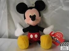 Mickey Mouse 7 inch beanbag plush, Disney; Applause New