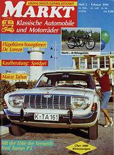 Markt 2/90 1990 De Lorean DMC 12 Fiat 1800B Ford 17 20 M P5 Goliath Maico Taifun