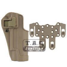 CQC Serpa Funda de pistola de mano derecha en la cintura con plataforma Molle Para Colt 1911 M1911