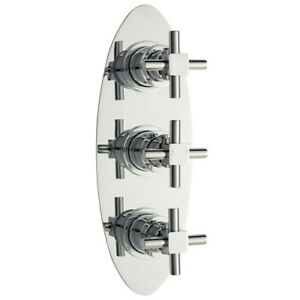 Ultra Finishing Twin & Triple Control Concealed Thermostatic Shower Valve TITV03