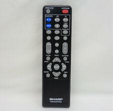 New listing Sharp Rrmcga357Awsa Factory Original Hi Fi Component System Remote Xl-Hf102B