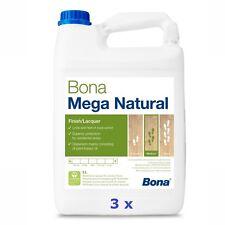BONA Mega Natural - 3 x 5 L - Parkettlack * Lacquer * Lakier nawierzchniowy