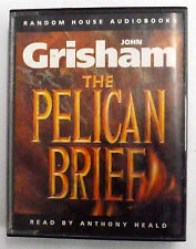 The Pelican Brief audio book John Grisham reader A.Heald 4 tapes 6 hrs