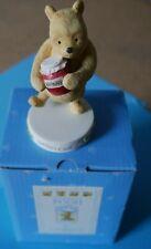 Classic Pooh Border Fine Arts, Winnie The Pooh 'Sundays Child' In Original Box