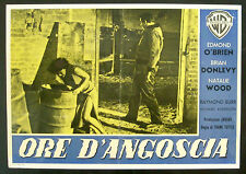 A CRY IN THE NIGHT orignal movie poster O'BRIEN, WOOD, tuttle ITALIAN RELEASE