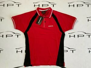 Genuine Honda Access Red Sport Polo Honda Dream Collection Official Merchandise