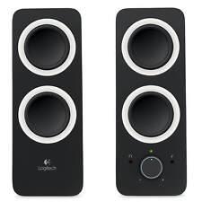 Logitech Z200 2-Piece 2 Channel Multimedia Computer Speakers w/ Headphone Jack