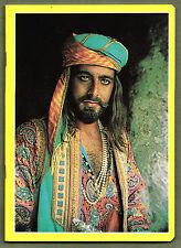 Quaderno Pigna Sandokan_Kabir Bedi giallo_vintage Sacis 1976