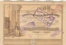 Societe anonyme de Wadi Kom-Ombo, Ägypten, Kairo, 1905