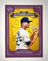 2021 Diamond Kings Debut Plum Frame #DDK-TB Shane McClanahan - Tampa Bay Rays RC