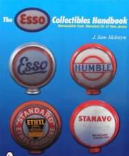 LIVRE/BOOK : objets de collection Esso (globe pompe à essence,plaque émaillée