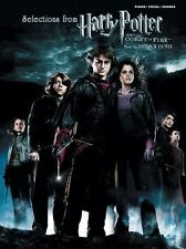 Selections from Harry Potter and the Goblet of Fire : Piano/Vocal/Chords