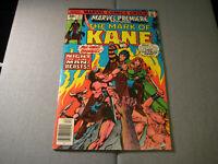 Marvel Premiere Comic Book #33 The Mark of Kane 1976
