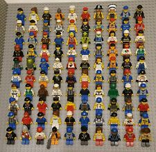 Lego MINIFIGURE Lot 100 Town People Girls Baseball Police Guys City Monsters