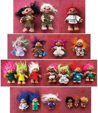 Thomas Dam Troll Dolls - Vintage Norfin - Assorted Lot of 20