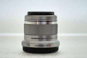 Olympus M.Zuiko 45mm f1.8 Digital Telephoto Prime Lens - Micro Four Thirds