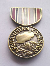 *** AFGHANISTAN CAMPAIGN HAT PIN *** Military Veteran P14424 EE