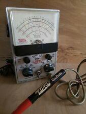 Eico Peak To Peak Model 232 Vtvm Electronic Volt Meters Probe Vintage Usa