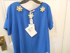 Blugirl Folies top Italian  size 48 new with tags
