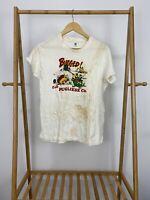 VTG Hanes 70s  Bugged! Call Pugliese Co Single Stitch T-Shirt Size XL USA