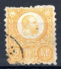 Hungary - 1871 Definitive Franz Josef - Mi. 1 FU (b) (faults)