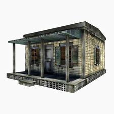 "Huge Extreme-Sets Cabin Pop-Up Diorama 1:12 Scale for 6""– 7"" Action Figures"