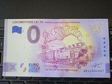 BILLET EURO SOUVENIR 2021-5 LOCOMOTIVES 141.TA ANNIVERSAIRE