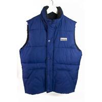 Hollister Blue Sleeveless Vest Men's Jacket size S