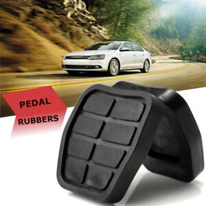 2x cover copri pedale pedali freno frizione in gomma compatibile con VOLKSWAGEN