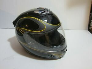 Mainframe Motorcycle Helmet Black size medium