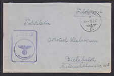 Germany, 1941 Marine Radioman Cherbourg Feldpost Cover