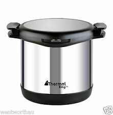 STAINLESS STEEL DOUBLE LAYER 6.8L THERMAL COOKER POT RECIPT ENERGY SAVING 3Y WTY