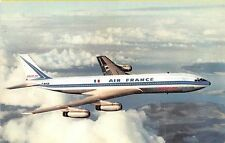 B57384 airplanes avions Air France Boeing 707 Intercontinental