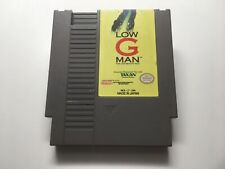 LOW G MAN: THE LOW GRAVITY MAN - NES GAME CARTRIDGE ONLY *CLEANED AND TESTED*