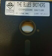 The Blues Brothers (Titus Software 1991) Commodore C64 (Disk) 100% ok