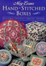 Hand-Stitched Boxes: Plastic Canvas, Cross Stich, Embroidery, Patchwor-ExLibrary