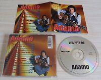 CD ALBUM BEST OF LES HITS DE  ADAMO SALVATORE 14 TITRES 1999