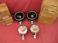 NOS 1960s Unimog Mercedes-Benz Set Headlights and Fog Work Lights Bosch / Hella