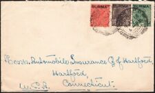 BURMA, 1938. Cover 2, 4-5, Rangoon - Hartford