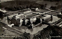 Nordkirchen Westfalen alte Ansichtskarte ~1950/60 Blick auf das Schloss Luftbild